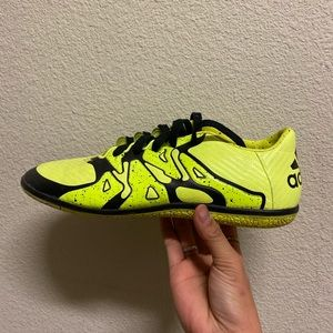 Adidas Neon yellow shoes